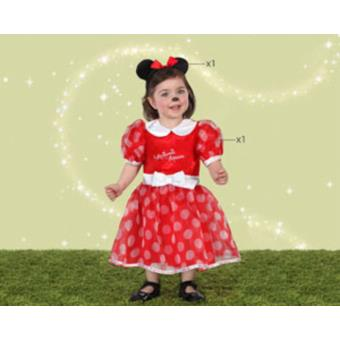 Disfarce Atosa Minnie Red, Baby T. 12-18 Meses