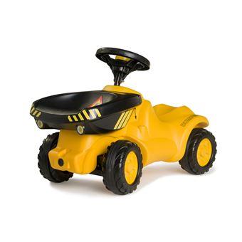rolly toys rollyMinitrac Dumper Trator Preto e Amarelo