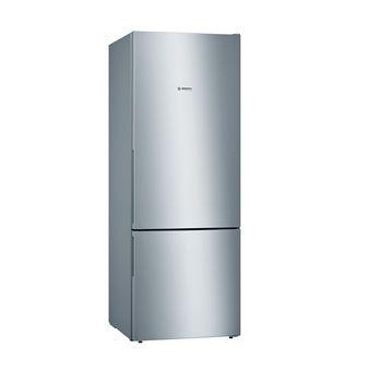 Frigorífico Combinado Bosch KGV58VLEAS | 191x70x77 cm | 377 L | E | Aço inoxidável