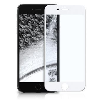 Película Ecrã Cobertura Total Vidro Temperado dmobile para iPhone 6 Full Cover 3D Branco