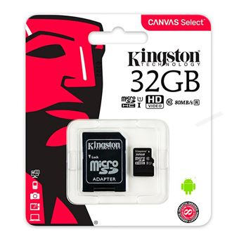 Cartão Micro SD 32gb Kingston