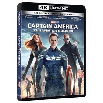 laFeltrinelli Captain America - The Winter Soldier (Blu-Ray 4k Ultra Hd+blu-Ray) Italiano
