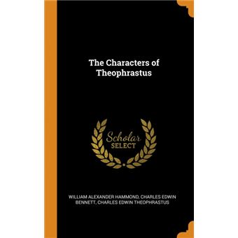 the Characters Of Theophrastus Hardcover