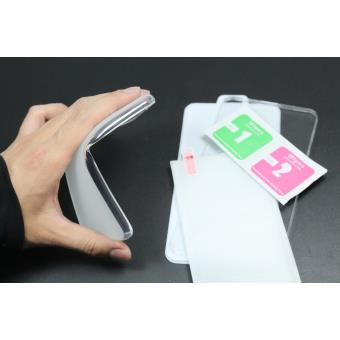 Película de Vidro Temperado + Capa skyhe para Samsung Galaxy S3 Mini Gel Transparente