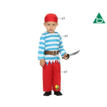 Disfarce Atosa do Pirata 12-24 Meses