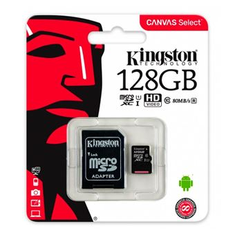 Cartão Micro SD 128gb Kingston