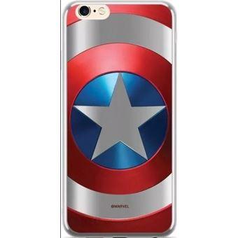 Capa LMobile Estampada Marvel Capitan America para Apple Iphone X
