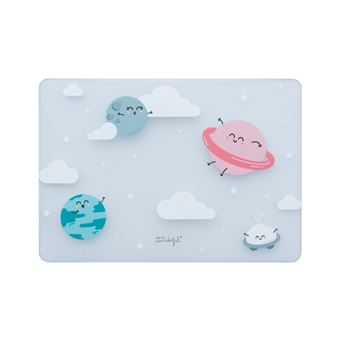 "mala para portáteis Mr. Wonderful Macbook Air 13""  33 cm (13"") Capa tipo concha Azul, Rosa, Translúcido"