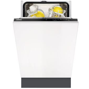Máquina de Lavar Loiça Zanussi ZDV12003FA 9 espaços conjuntos A+