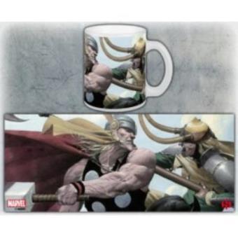 Caneca Marvel Thor Vs Loki