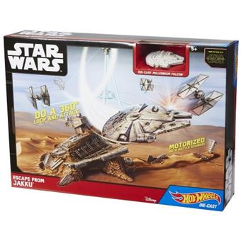 Modelo Millenium Falcon Mattel Star Wars Hot Wheels