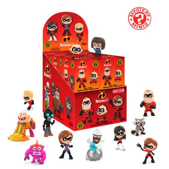 Funko Mystery Minis Disney The Incredibles 2  Exclusive