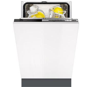 Máquina de Lavar Loiça Zanussi ZDV14003FA 9 espaços conjuntos A+