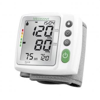 Medidor de Tensão Arterial Medisana de Pulso BW 315 Branco 51072