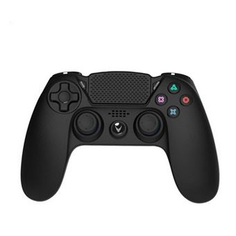Controlo remoto sem fios para videojogos Omega OGPPS4 PS4/PC Preto