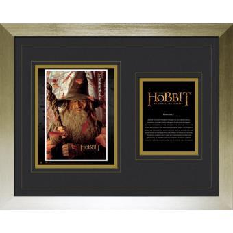 Fotografia Emoldurada e Montada GB Eye The Hobbit Gandalf 40 X50 Cm