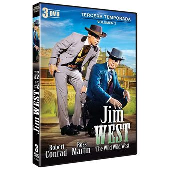 Jim West - Temporada 3 Parte 2 (3DVD)