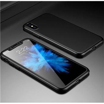 Capa Fashion Case Case 360 para iPhone X Preto