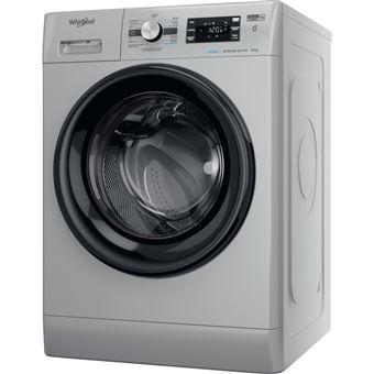 Máquina de Lavar Roupa Whirlpool FFB 8248 SBV SP | 8 Kg | 1151 RPM | C | Prateado