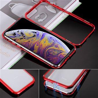 Protetor de Ecrã de Vidro Temperado Magunivers quadro de atração vermelho para Apple iPhone XR 6.1 inch