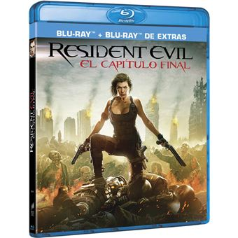 Resident Evil: The Final Chapter / Resident Evil 6 (BD Extras) (2Blu-ray)