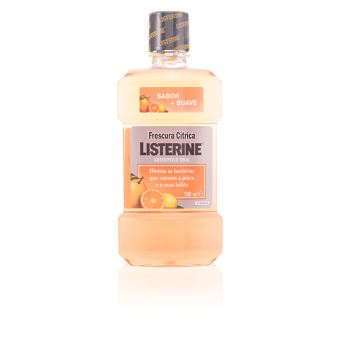 Elixir Oral Listerine Frescura Cítrica 500ml