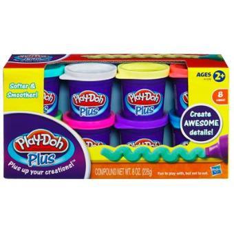 Hasbro Play-Doh Plus A1206 - Potes de Plasticina
