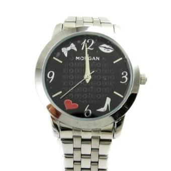 c603f74c833 Relógio Morgan preto de prata (moda vítima) - Relógios Senhora - Compra na  Fnac.pt