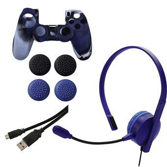 acessório de consolas de jogos Hama 00115463  Preto e Azul