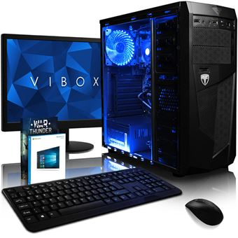 computador desktop gaming vibox amd quad core 3 8ghz 8 gb 1600mhz radeon gr ficos integrados r7. Black Bedroom Furniture Sets. Home Design Ideas