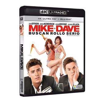 Mike Y Dave Buscan Rollo Serio (4K Ultra HD ) / Mike and Dave Need Wedding Dates (2Blu-ray)