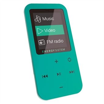 Leitor MP3/MP4 Energy Sistem Mp4 Touch Mint 8 Gb