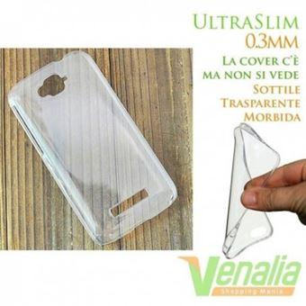 Capa Lmobile em Gel TPU Ultra Fina para Alcatel One Touch Pop C7 Transparente