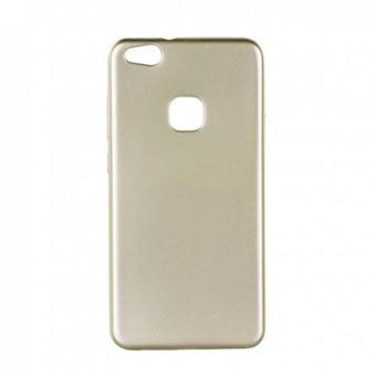 Capa Lmobile S em Gel Matte para Huawei P10 Lite Dourado Simples