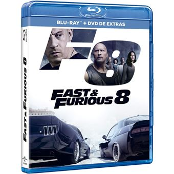 Fast & Furious 8 (2Blu-ray)