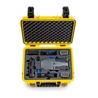 B&W 3000/Y/MAVIC Mala rígida Amarelo Polipropileno (PP) caixa de câmara drone