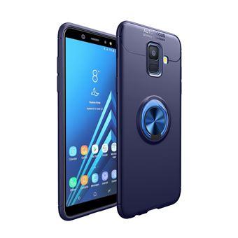 Capa Magunivers TPU anel de dedo azul para Samsung Galaxy A6 (2018)