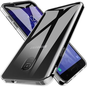 Capa Advansia para Samsung Galaxy J4 TPU Ultra Fino Silicone Transparente