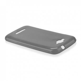 Capa Lmobile em Gel TPU Ultra Fina para Alcatel One Touch Pop C7 Preto Transparente