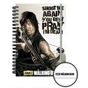 Caderno A5 The Walking Dead Crossbow
