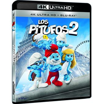 The Smurfs 2 (4K Ultra HD) / Los Pitufos 2 (2Blu-ray)