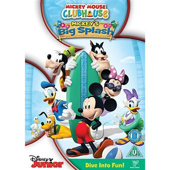 Disney Mickey Mouse Clubhouse Big Splash DVD 2D Inglês