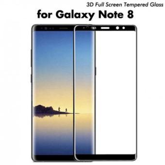 Película Ecrã de Vidro Temperado Lmobile Full Cover para Samsung Galaxy Note 8 Preto
