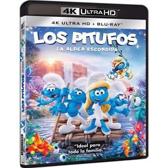 Smurfs: The Lost Village (4K Ultra HD) / Los Pitufos: La Aldea Escondida (2Blu-ray)