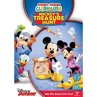 Disney Mickey Mouse Clubhouse Treasure Hunt DVD 2D Inglês