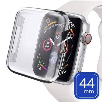 Capa Avizar para Apple Watch de Silicone antimarcas Transparente