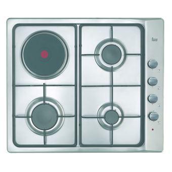 Placa de Cozinha Encastrável Teka E/60.3 3G 1P AL Inox