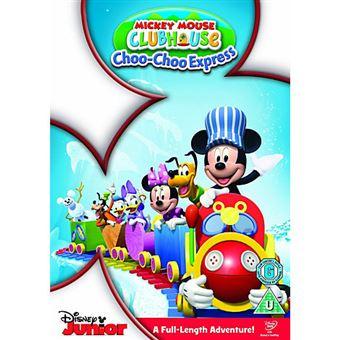 Disney Mickey Mouse Clubhouse Mickey's Choo Choo DVD 2D Inglês