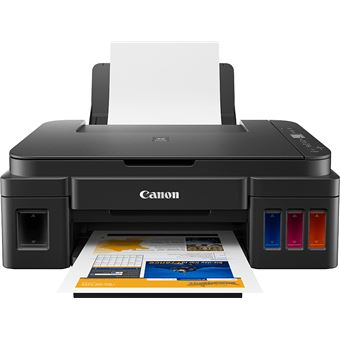 Impressora Multifunções Jacto de Tinta Canon G2411 Preto