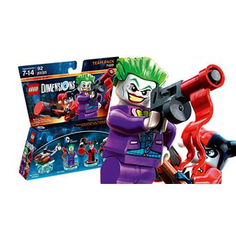 LEGO Dimensions Warner Bros Team Pack DC Comics Joker & Harley 1000561431